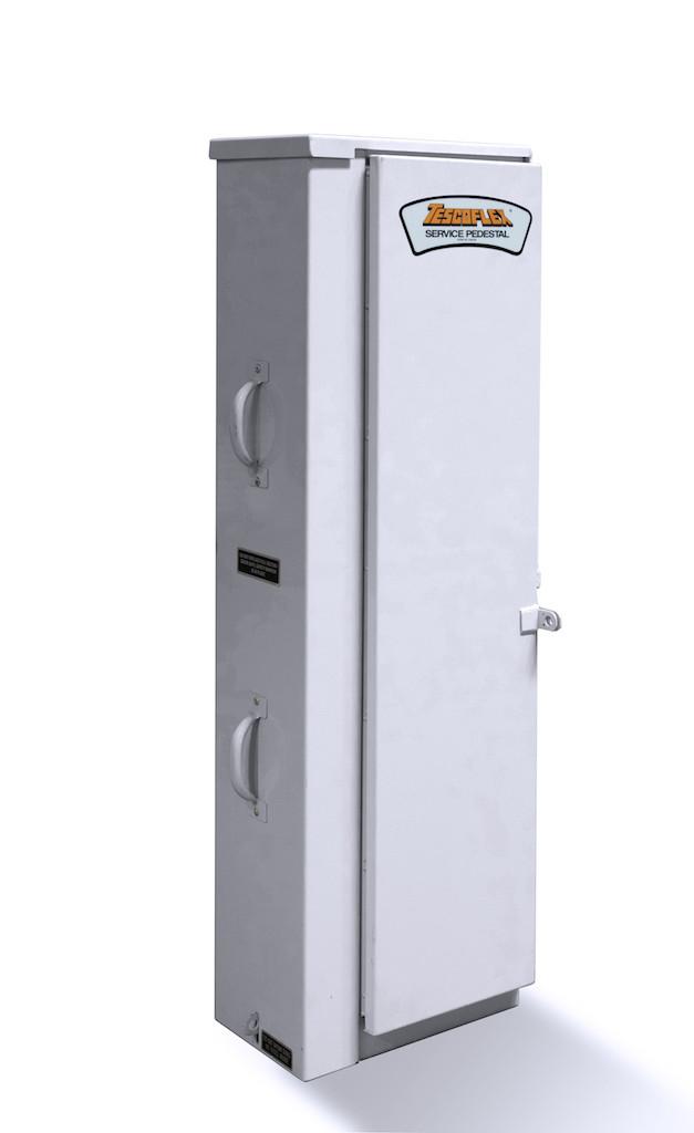 Vista Underground Distribution Switchgear: 26-100 Unmetered TESCOFLEX® Pedestal