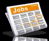 Job openings newspaper image