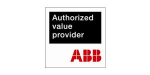ABB授权价值供应商标志